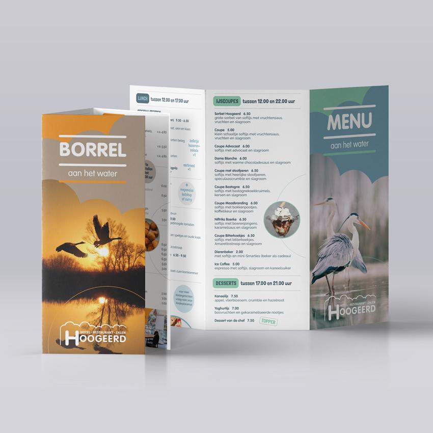 Hoogeerd_menukaarten